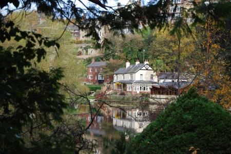 Beside the River Nidd at Knaresborough