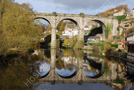 Railway Bridge over the River Nidd at Knaresborough