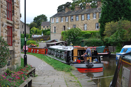 Barges at Skipton