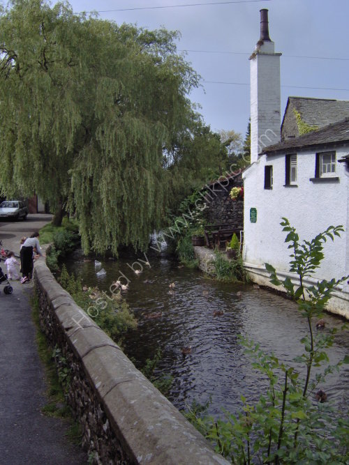 Little river at Cartmel