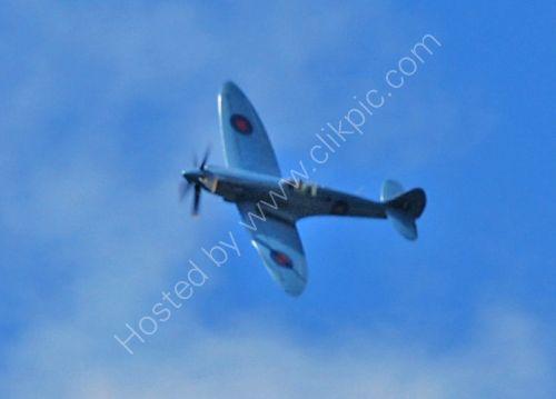Spitfire fly past