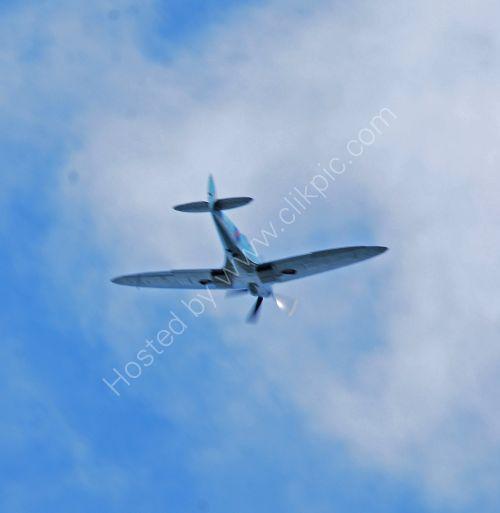 Spitfire fly past.....