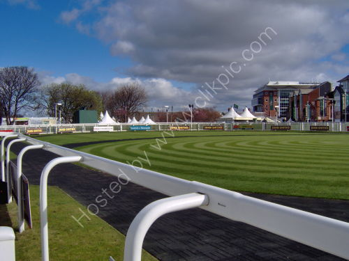 The Parade ring, Aintree