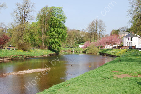 The River Eden at Appleby