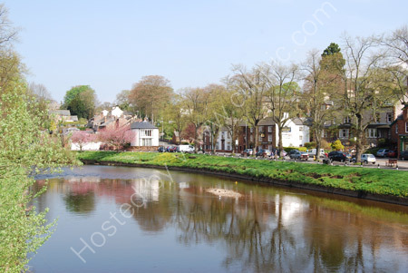 The River Eden in Spring - Appleby