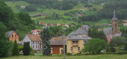 Small vallage in France [near the Alsace]