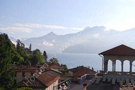 Sunrise over the mountains - Lake Como