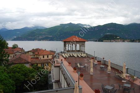 Hotel sun terrace - Lake Como