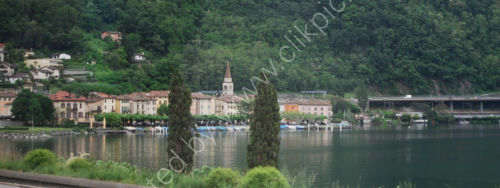 Village on Lake Lugano