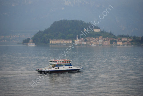 Ferries across Lake Como