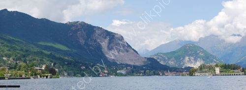 Lake Maggiore and the mountains