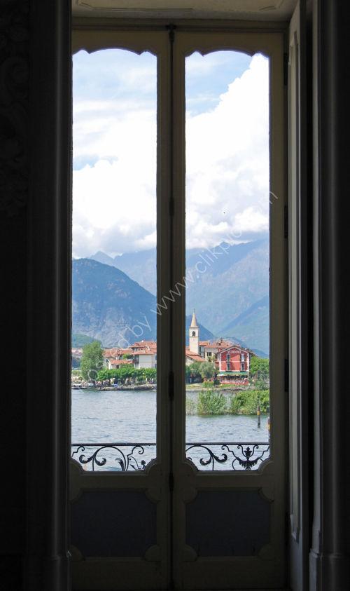 Through the Palace window