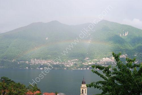 Rainbow over Lake Como