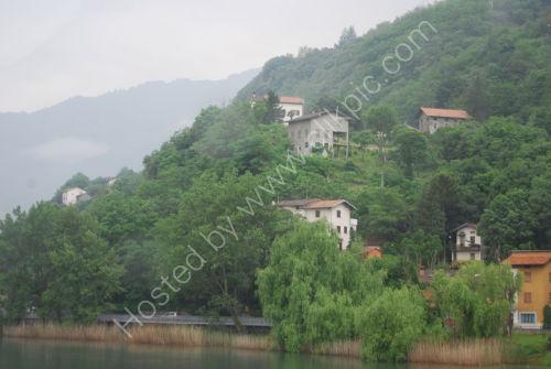 Homes on the hillside