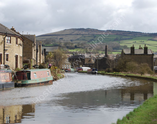 Canal and the hills....