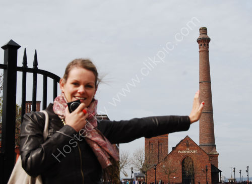Holding up the chimney....