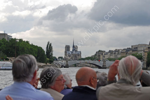 On the River Seinne with Notre Dame