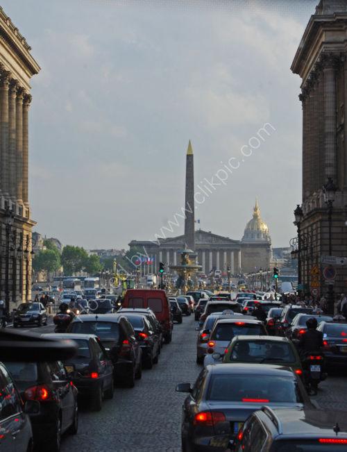 Paris rush-hour .....