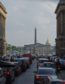 Paris rush-hour .....