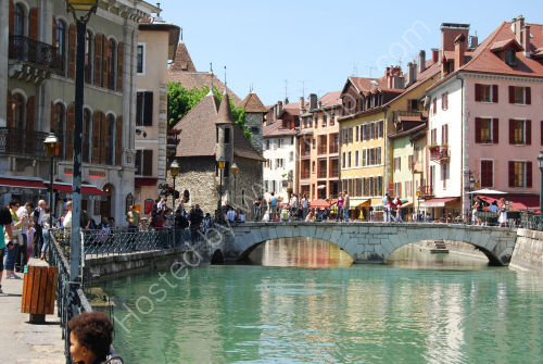 Canal and bridge at Annecy