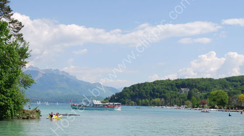 Across Lake Annecy