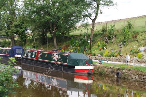 Canalside mooring