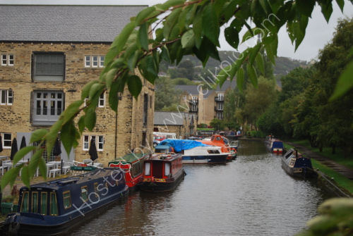 Canal basin at Sowerby Bridge