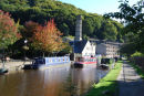 Rochdale Canal at Hebden Bridge