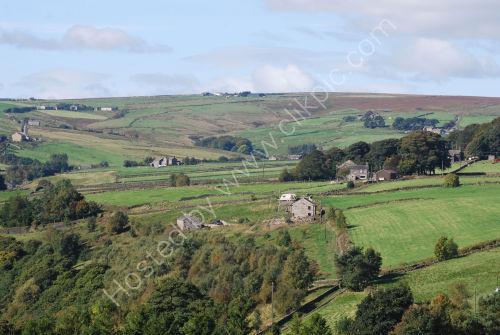 Pennine Hill scene