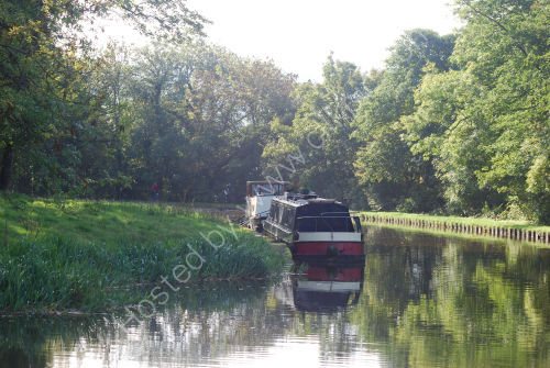 Moored on the bend