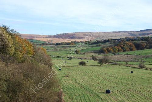 Pennine hills in Autumn