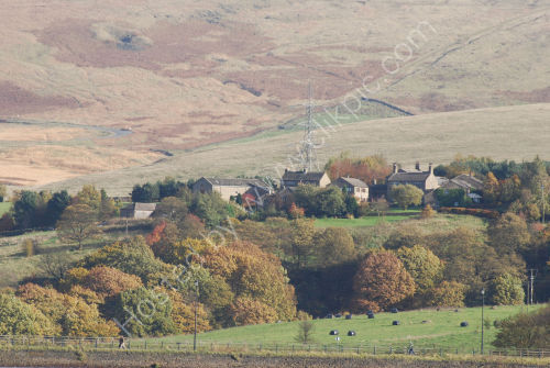 Pennine village in Autumn