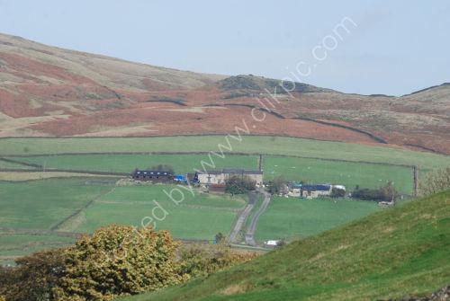 Pennine hill farm