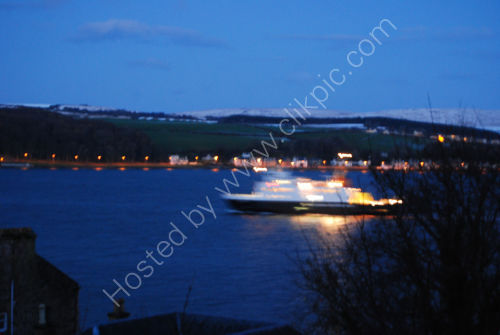 Ferry into Rothesay