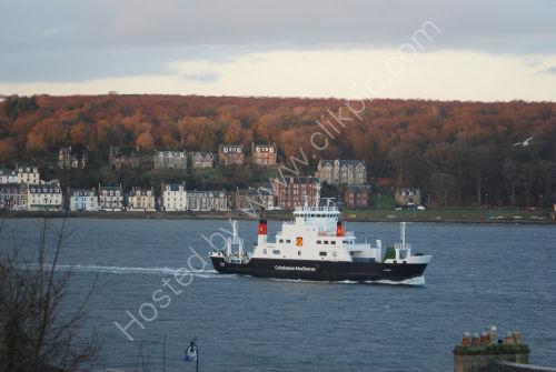Morning ferry leaving
