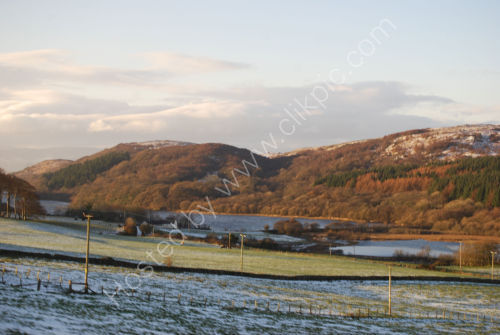 Winter on the Isle of Bute