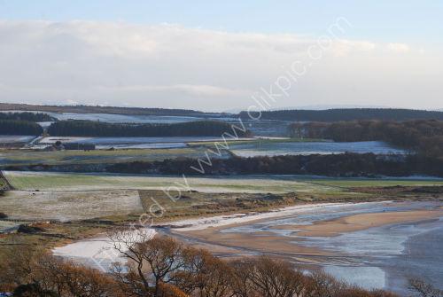 Winter scene on the Isle of Bute