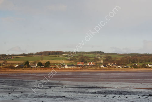 Isle of Bute coast in winter