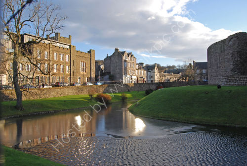 Rothesay Castle and Moat