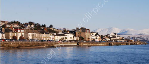 Dunoon in wintery sushine