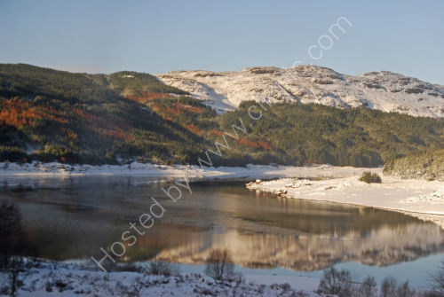 Winter reflections in Scotland