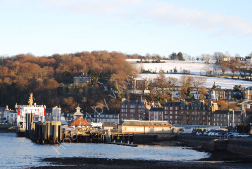 Rothesay on a winters afternoon