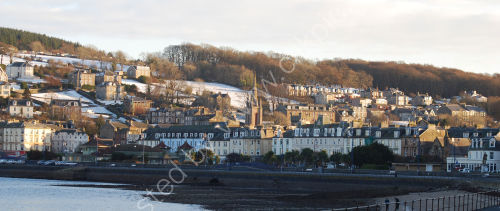 Winters evening in Rothesay