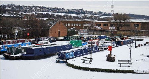 Canal Basin on Boxing Day 2010