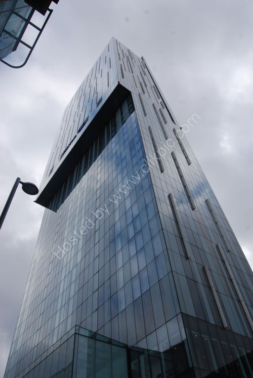 The Beetham Tower, Manchester