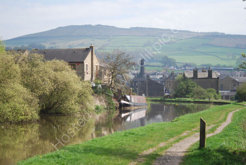 Winding towards Silsden