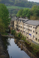 Reflections in Hebden Bridge