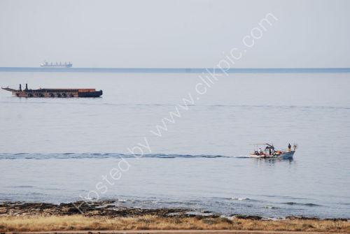 Activity on the sea....
