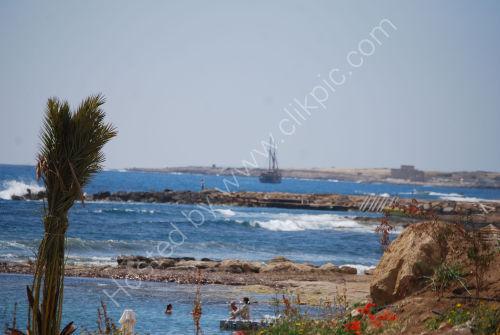 Sailing into Paphos