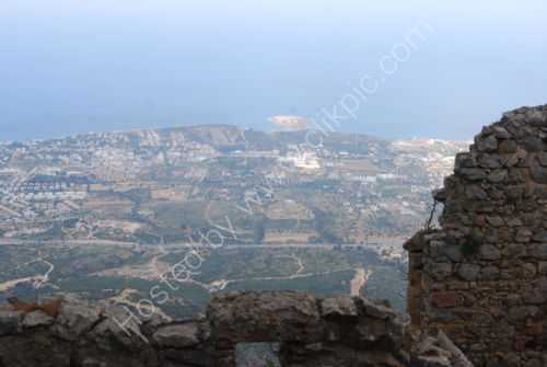 Kyrenia - from the hills above